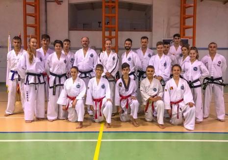 Lotul naţional de sporturi marţiale coreene s-a aflat în cantonament în comuna bihoreană Sălard