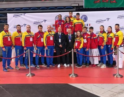 Bihorenii Paskuj Sandor si David Sferle, vicecampioni europeni la Taekwon-do ITF