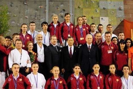 Două orădence, în semifinalele Campionatului European de Karate