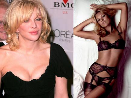 Courtney Love a făcut sex cu Kate Moss