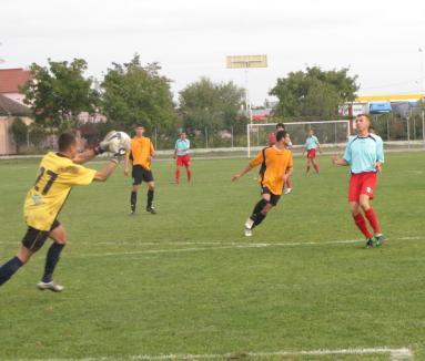 Echipele bihorene, neînvinse în etapa a V-a la fotbal