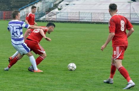 Luceafărul a cedat cu 2-3 jocul susţinut la Târgu Mureş, cu ASA