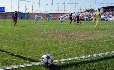 S-a spart ghinionul: Luceafărul s-a impus cu 2-1 în fața Olimpiei Satu Mare și este la a doua victorie!