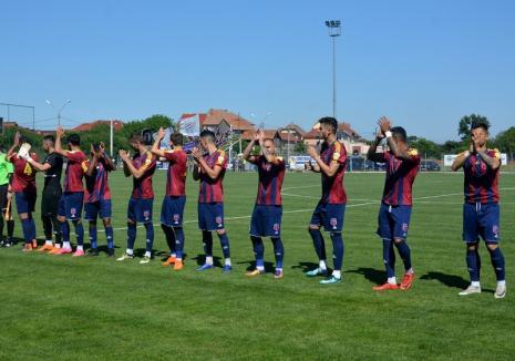 Luceafărul Oradea va încheia sezonul Ligii a II-a cu o victorie la 'masa verde'