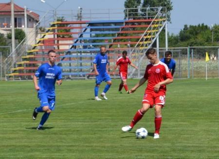 Luceafărul s-a impus cu 5-2 în amicalul cu CSC Sânmartin