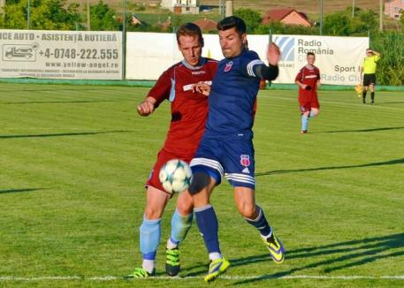 Luceafărul a învins cu 3-0 Unirea Livada, în cel de-al doilea amical dintre cele două formaţii