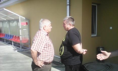 Luceafărul s-a reunit sub conducerea noului antrenor, Cornel Ţălnar (FOTO)