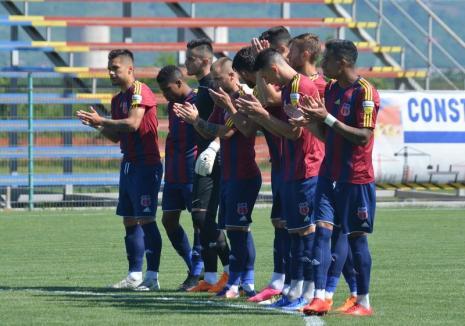 Luceafărul Oradea a încheiat ediţia 2017-2018 a Ligii a II-a pe locul 8. Atacantul Vlad Rusu a cucerit titlul de golgheter al competiţiei