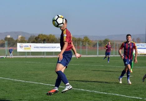 Luceafărul a defilat după pauză şi s-a impus cu 3-0 în faţa bucureştenilor de la Metaloglobus