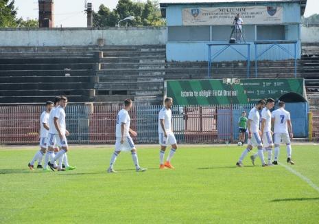 Luceafărul a cedat cu 1-3, pe terenul echipei Sănătatea Cluj şi a părăsit Cupa României