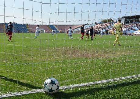 Joc încrâncenat. Luceafărul a pierdut cu 1-2 meciul împotriva Dunării Călăraşi