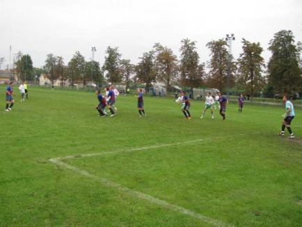 Victorii pentru echipele bihorene din Liga a III-a la fotbal