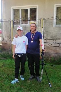 Bronz la Naţionalele de tir cu arcul petru CS Redpoint Oradea, care dă şi o cadetă la lotul naţional (FOTO)