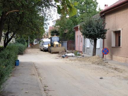 Capătul străzii Anatole France dinspre cartierul Nufărul va rămâne închis traficului până pe 28 august (FOTO)