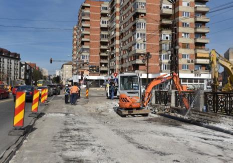 Trafic îngreunat în Parcul Traian: Încep lucrările la pasajul pe sub Bd Magheru. Vezi cum se circulă începând de miercuri!