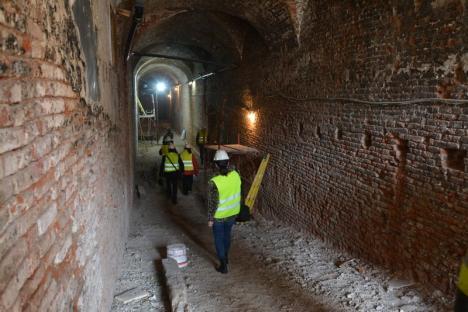 Bijuterie şlefuită: Cu o investiţie de 6 milioane euro, Palatul Baroc din Oradea îşi va recăpăta strălucirea (FOTO)