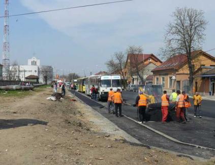 Drumuri Orăşeneşti modernizează alte cinci străzi prin POR