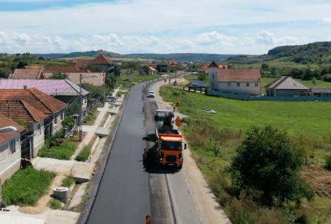 Veste bună pentru şoferii care folosesc DN 76: se redeschide traficul între Hidişelu de Sus şi Copăceni (VIDEO)
