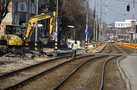 Trafic restricționat în Oradea, prin intersecțiile Bulevardului Cantemir cu străzile adiacente până la începutul lunii iunie