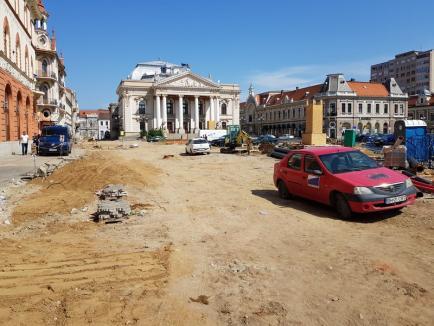 Oradea blocată: Marile lucrări ale municipalităţii paralizează traficul rutier şi îi aruncă pe orădeni în pragul disperării (FOTO/VIDEO)