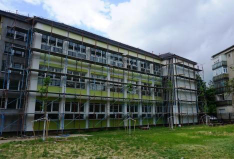 Liceul ortodox 'Roman Ciorogariu' din Oradea se reabilitează termic pe fonduri europene (FOTO)