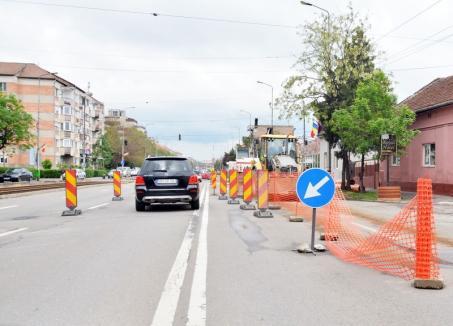 Restricţiile de circulaţie din Bulevardul Cantemir se prelungesc. Vor fi şi altele în oraş!