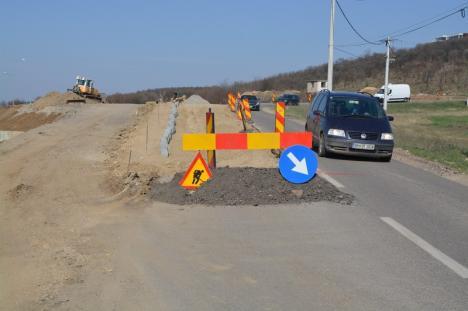 """Front de lucru: Șantierele din Oradea """"duduie"""", stimulate de scăderea traficului provocată de coronavirus (FOTO)"""