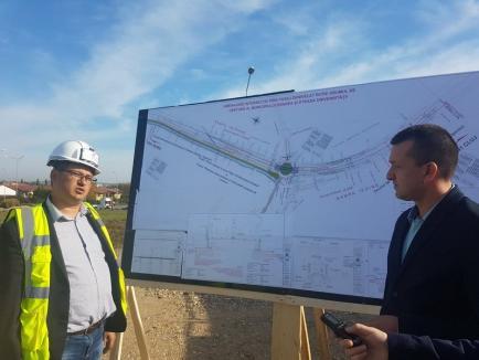 Lucrările de construire a pasajului suprateran de la Piața 100 au început cu devierea utilităților (FOTO)