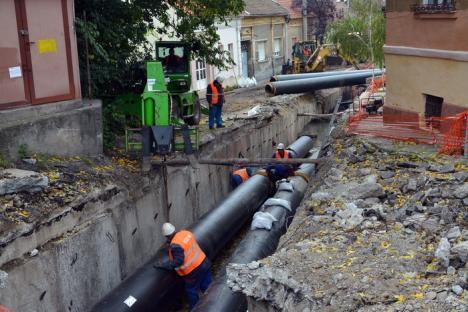 Viceprimarul Mircea Mălan: 'Cartierul Nufărul şi comuna Sînmartin vor avea apă caldă cel târziu din 10 octombrie' (FOTO)