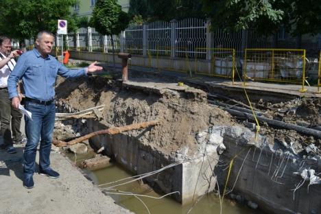 8 şantiere! Lucrările de reabilitare a reţelelor vor provoca devieri de trafic şi întreruperi ale circulaţiei tramvaielor vreme de două săptămâni (FOTO)