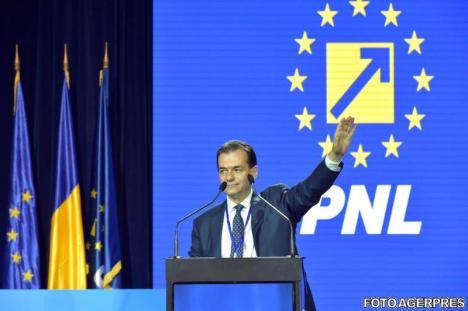 Ludovic Orban este noul preşedinte al PNL. Bolojan crede că va face din el un 'partid mare'
