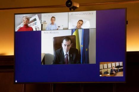 Premierul Ludovic Orban dă vești despre tranzitul românilor prin Ungaria. Fluența transportului de marfă este asigurată (VIDEO)