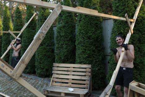 Invitaţie în grădină: Orădenii au parte de evenimente interesante în grădina MA Hub din Parcul Brătianu (FOTO)