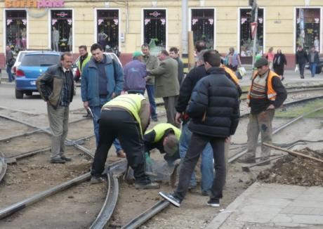 Două defecţiuni ale tramvaielor în numai câteva ore