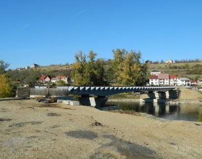 """Primarul Bolojan: """"În cinci luni podul Macio ar trebui să fie gata"""""""