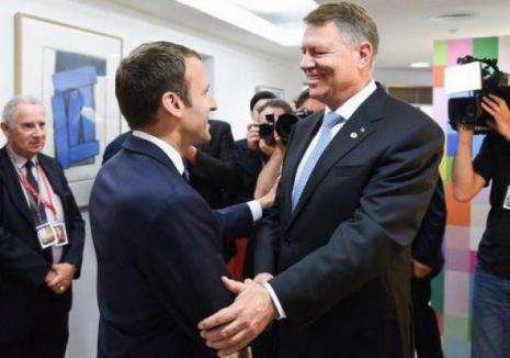 Preşedintele Emmanuel Macron, vizită în România. Vom cumpăra elicoptere şi rachete din Franţa!
