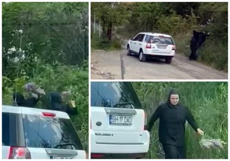 Ruşinică! Mai multe călugăriţe, surprinse în timp ce rupeau flori de liliac de pe o stradă din Oradea (FOTO / VIDEO)