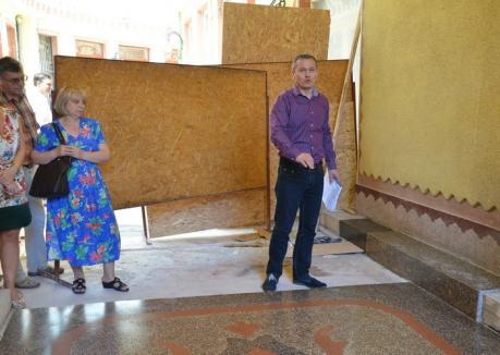 Bihorel: Opt sfaturi pentru vicele Mălan pentru ca mozaicul din Pasaj să iasă beton