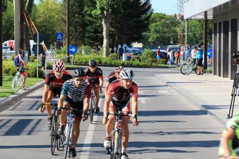 Orădeanul Raul Sînza, locul II în concursul profesioniştilor de la Cupa Timişoarei la ciclism