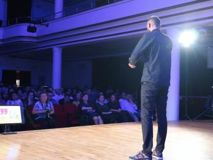"""#șîeu: Ștefan Mandachi la 11even Oradea: """"Toți suntem niște țărani, depinde de noi dacărămânem la acel nivel sau dacă evoluăm"""" (FOTO / VIDEO)"""