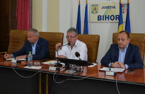Prinşi cu minciuna: Şefii Consiliului Judeţean Bihor ascund sumele virate firmelor de partid