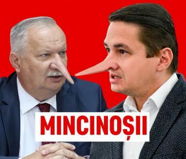 Ca Pinocchio: USR-iştii din Bihor spun că Mang şi Pavel sunt nişte 'mincinoşi'