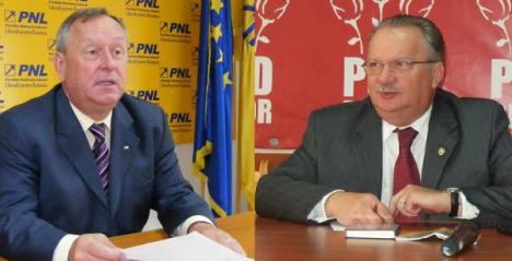 Liderii PSD şi PNL Bihor agreează 'un acord' între cele două partide