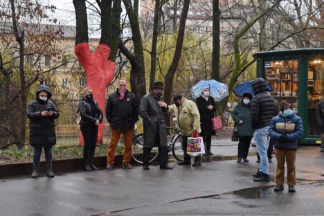 Sărbătoare în pandemie: 15 martie fără invitaţi, discursuri, husari şi tradiţionala retragere cu torţe (FOTO)