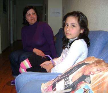 Theranova vrea să o ajute pe Emanuela să meargă din nou