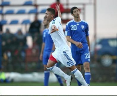 Adrian Markus a înscris din nou pentru România Under 19