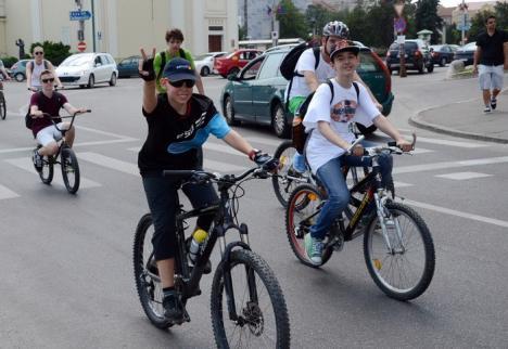 Qubiz Bike Ride: Orădenii, invitaţi la o ieşire cu bicicleta pentru Fundația Mihai Neșu