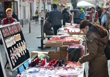 Administraţia Domeniului Public licitează locurile pentru vânzarea de mărţişoare şi flori