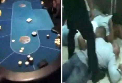 Un cazinou ilegal, vechi de două luni, a fost desfiinţat de poliţişti (FOTO/VIDEO)