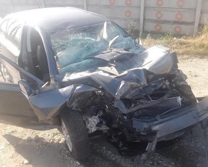 Concluzii în cazul accidentului de pe Borşului: Şoferul de TIR a virat pe linie continuă